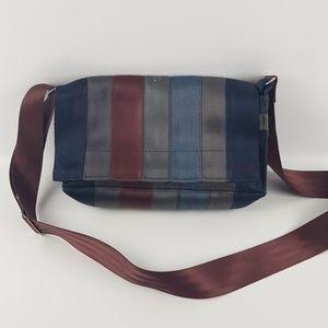 Vintage recycled seatbelts seatbelt purse